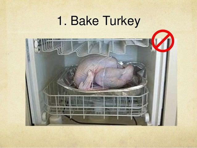 1. Bake Turkey