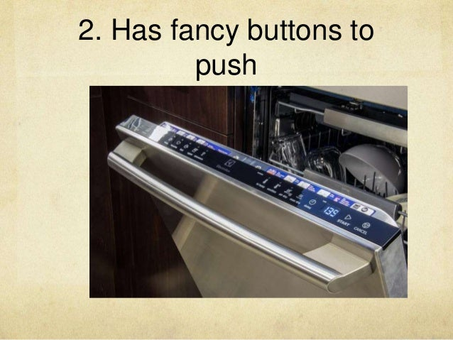 2. Has fancy buttons to push