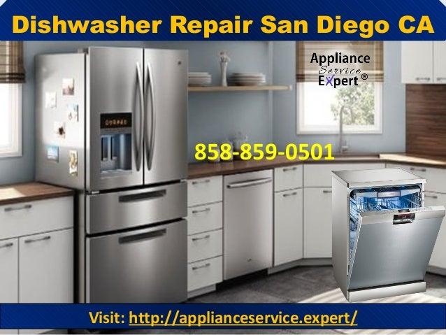 Dishwasher Repair San Diego CA 858-859-0501 Visit: http://applianceservice.expert/
