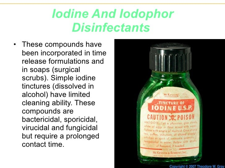 Disinfectants a ppt