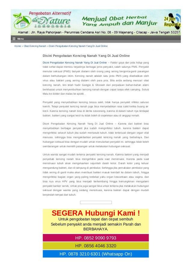 Home » Obat Kencing Nanah » Disini Pengobatan Kencing Nanah Yang Di Jual Online Disini Pengobatan Kencing Nanah Yang Di Ju...