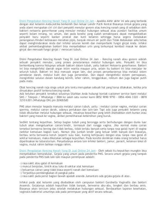 Disini Pengobatan Kencing Nanah Yang Di Jual Online 24 Jam - Apabila Akhir akhir ini ada yang berbeda dengan alat kelamin ...