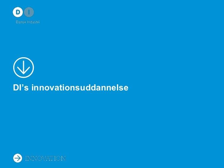 DI's innovationsuddannelse