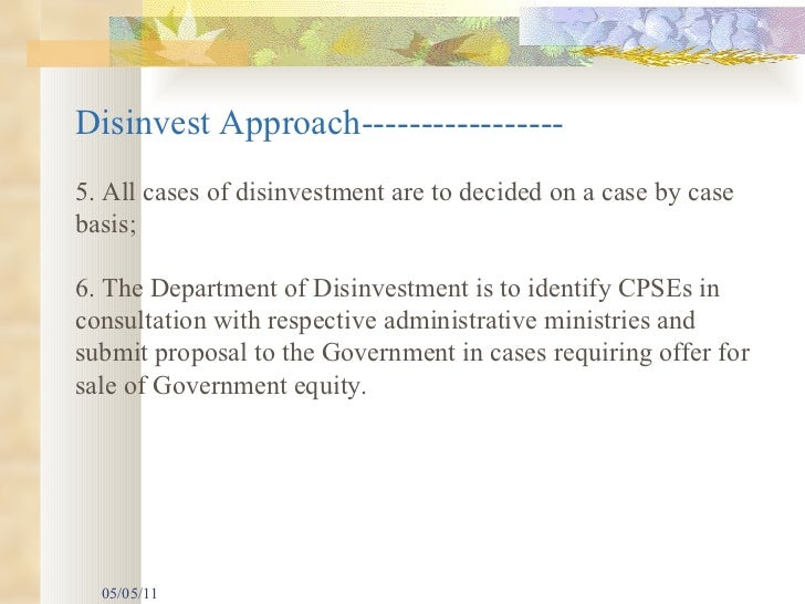 Disinvestment policy pdf reader back office fx trading