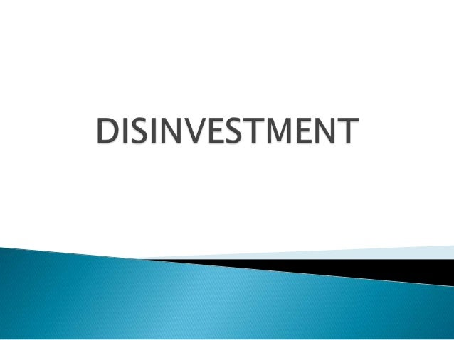 Privatization and Disinvestment       Privatization implies a change in ownership, resulting in a change                 ...