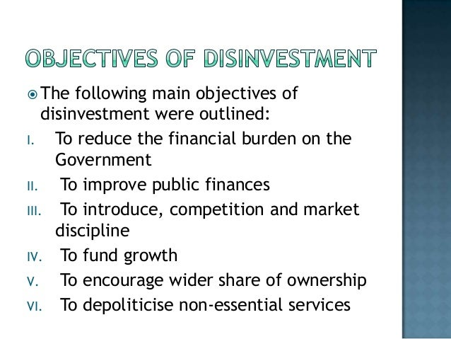 Meaning and objective of disinvestment how to withdraw money from forex trading account