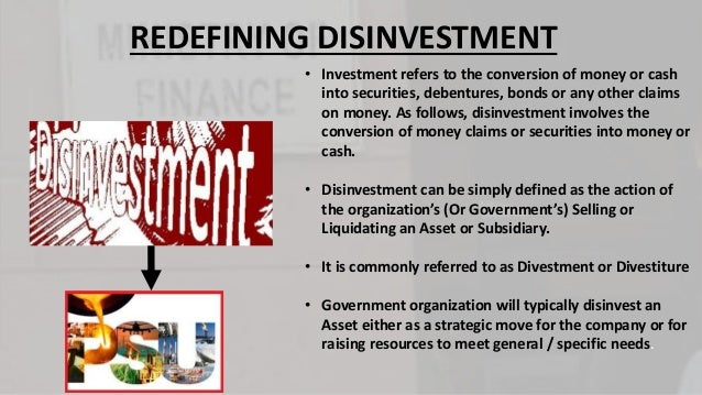 disinvestment policy of indian government New industrial policy of the government: liberalization, deregulation and privatisation main objectives of new economic policy main features of the policy of liberalisation evaluation of liberalization impact of liberalization on indian economy advantages of privatization.