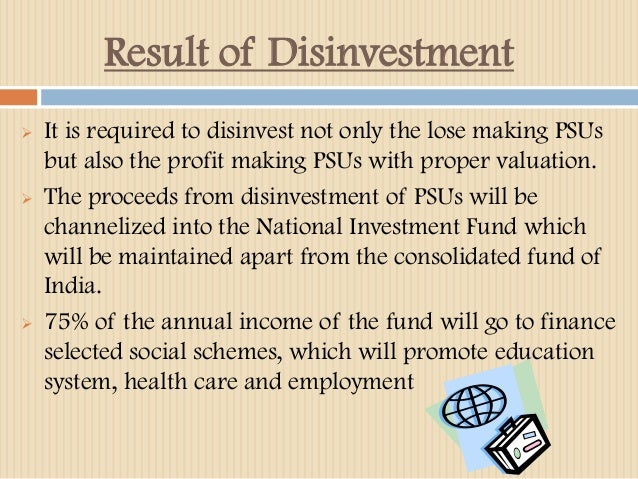 disinvestment in public sector pptx