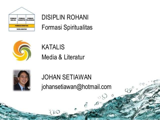 Disiplin Rohani Slide 2