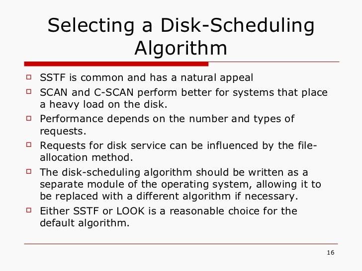 Disk Scheduling 16 728gcb1329963144