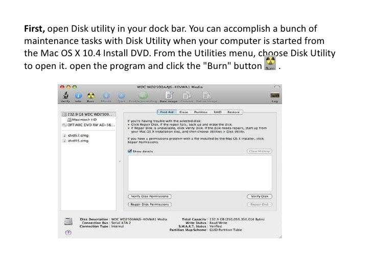 how to open disk utility on mac