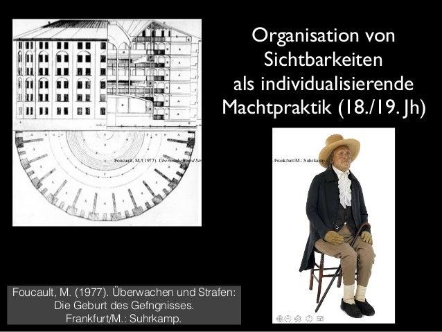 Foucault, M. (1977). Überwachen und Strafen: Die Geburt des Gefngnisses. Frankfurt/M.: Suhrkamp. Moralisierende, erzieheri...