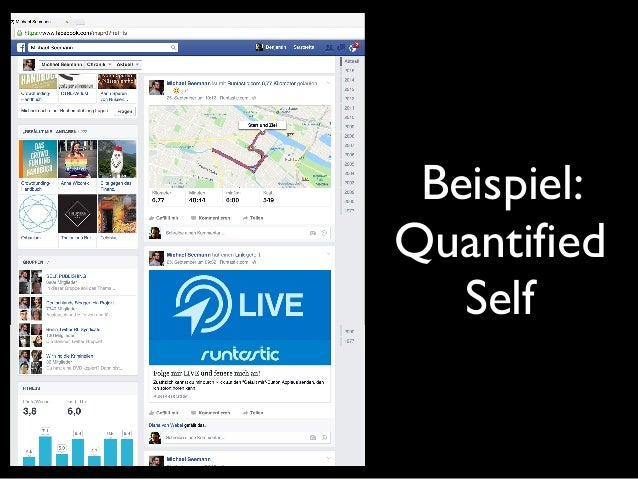 Beispiel: Quantified Self