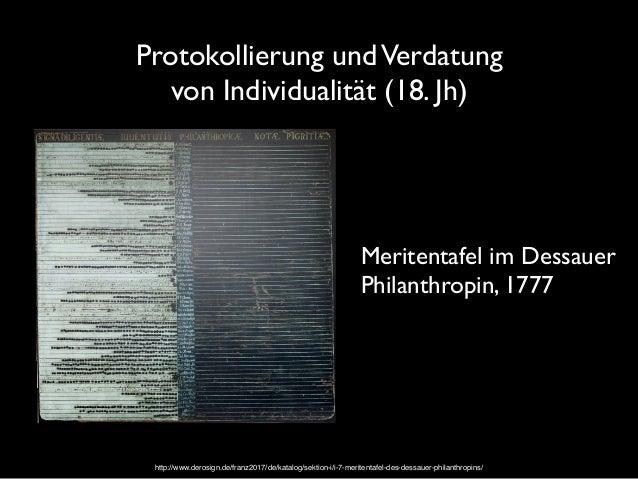 Organisation von Sichtbarkeiten als individualisierende Machtpraktik (18./19. Jh) Foucault, M. (1977). Überwachen und Stra...
