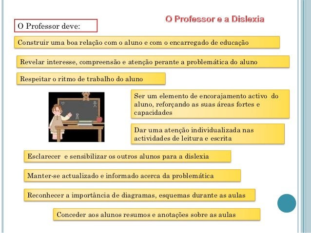 O Professor deve:Construir uma boa relação com o aluno e com o encarregado de educaçãoRevelar interesse, compreensão e ate...