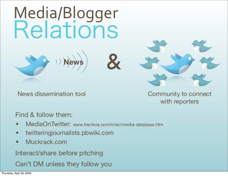 Media/Blogger                                                     &                                   News                ...