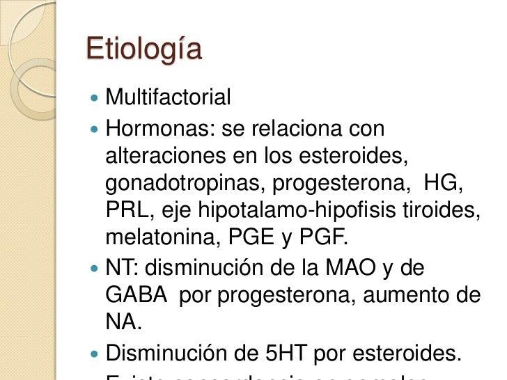 Dismenorrea y síndrome premenstrual