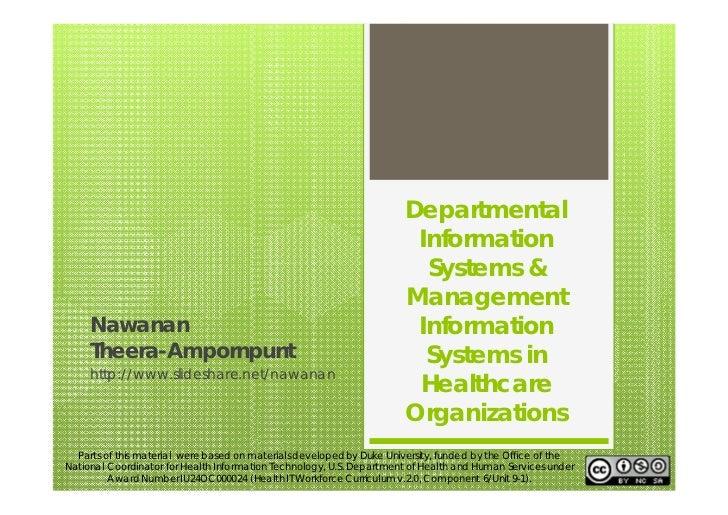 Departmental                                                                       Information                            ...