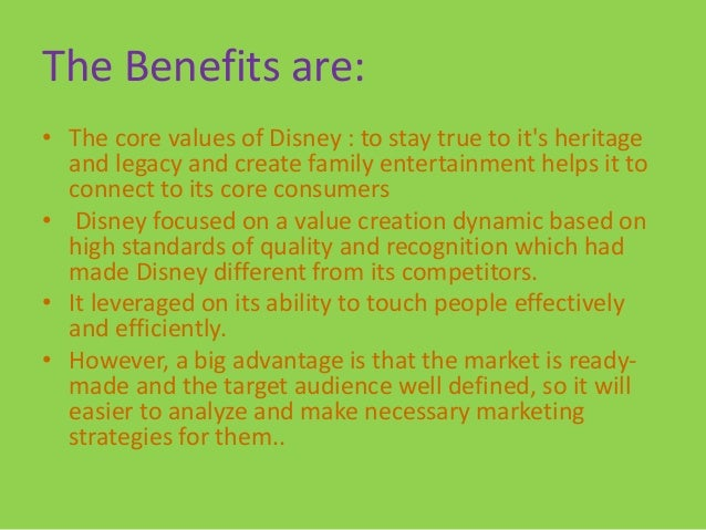 The walt disney company its diversification strategy in 2012 case 20