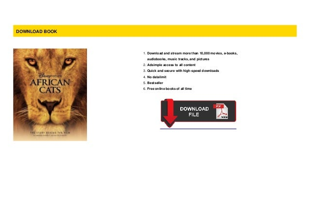 Pdf] african cats (disneynature african cats) download by keith s….