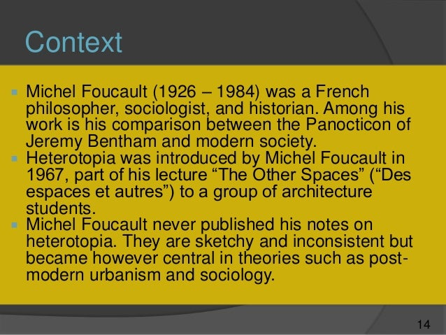 foucault in contemporary theories The book punishment and modern society: a study in social theory, david garland is published by university of chicago press.