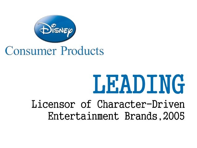 disney consumer products marketing nutrition to children Imagination farms, licensing and marketing disney has a consumer products food and beverage industry for marketing unhealthy products to children.