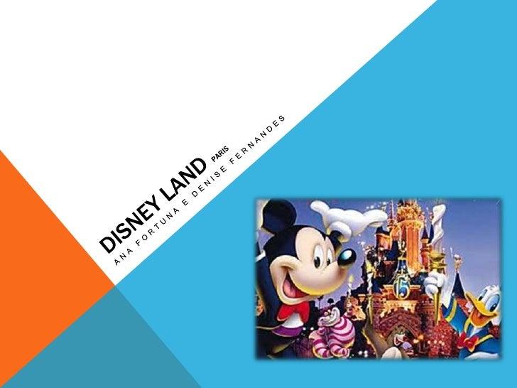 HISTÓRIA DA DISNEYLAND      Walter Elias Disney (5/12/1901 a 15/12/1966) imaginou a Disney Landnuma linda manhã quando bri...