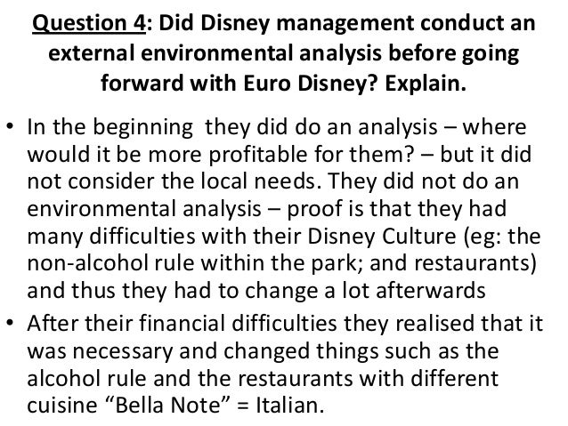 euro disney reflect the strategic philosophy of walt disney as a multinational enterprise Essay on disney land in europe  in what way did euro disney reflect the strategic philosophy of walt disney as a multinational enterprise.