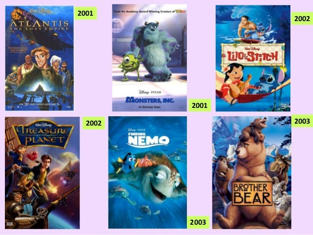 disney pixar films