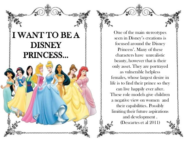 disney stereotypes essay