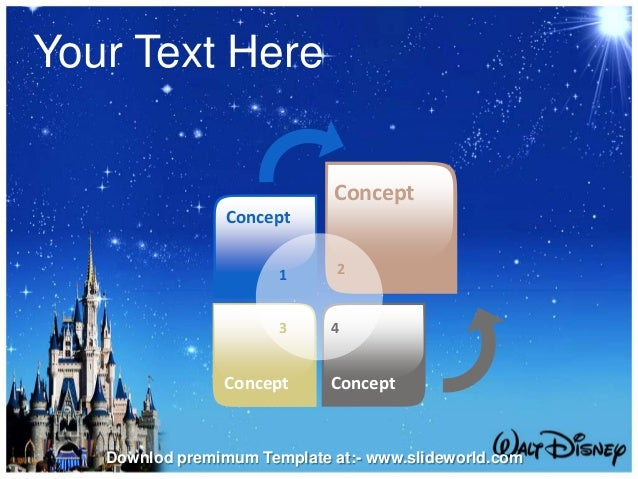 disney world powerpoint template