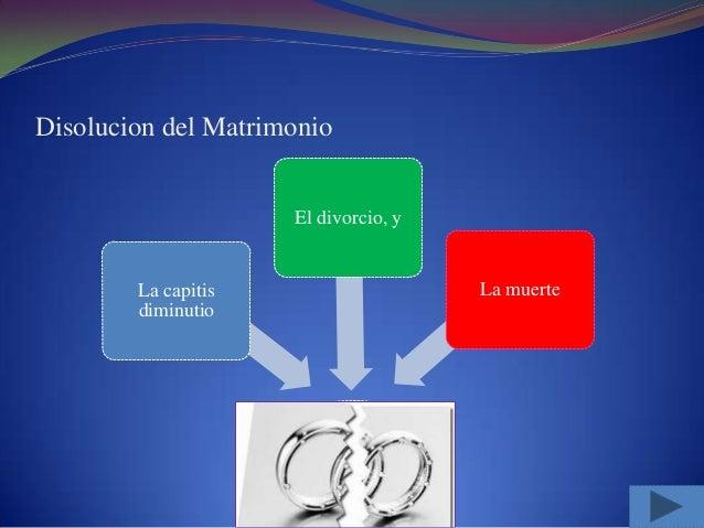 Matrimonio Catolico Disolucion : Disolucion del matrimonio