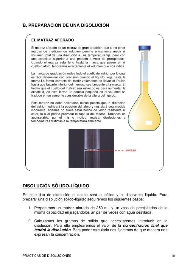 Disoluciones c lculo for Que es agua destilada
