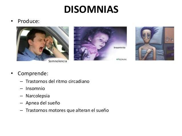 Disomnias Fisiopatologia