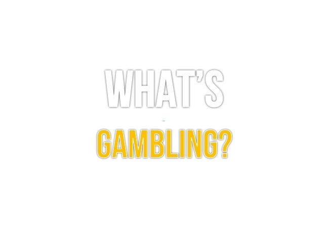 Gambling training course