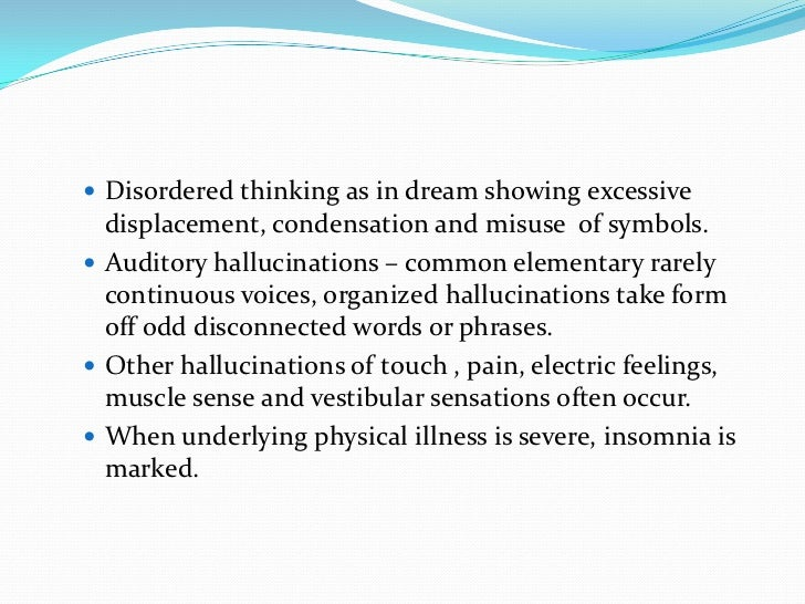 Disorders In Memory And Consciousness