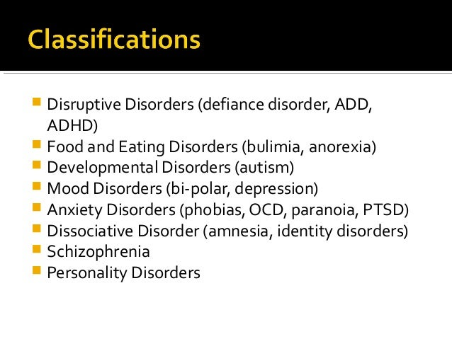 disorders expository essay topics