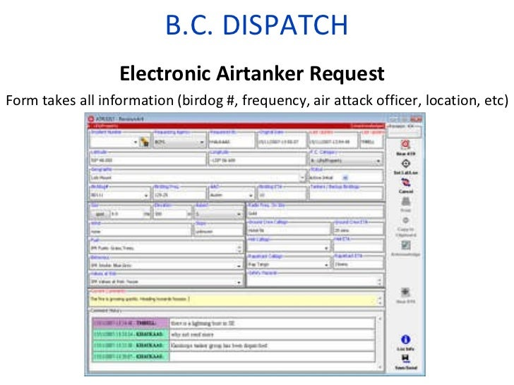 Dispatch Situational Awareness Software