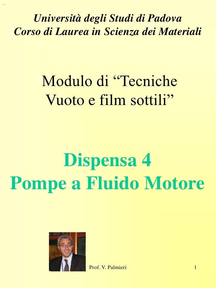 """--             Università degli Studi di Padova      Corso di Laurea in Scienza dei Materiali              Modulo di """"Tecn..."""
