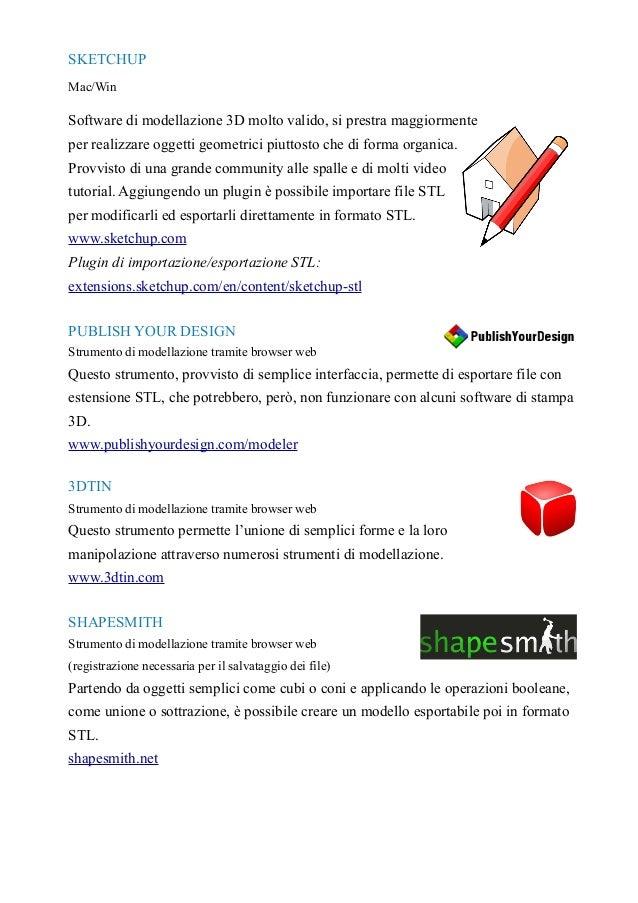 Lista di software gratuito per la modellazione e stampa 3d for Software di progettazione di mobili gratuito