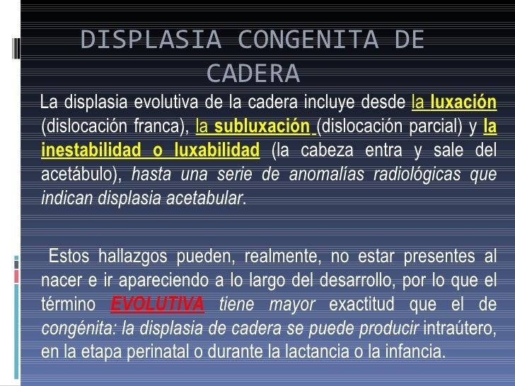 Displasia Evolutiva de Cadera Slide 3