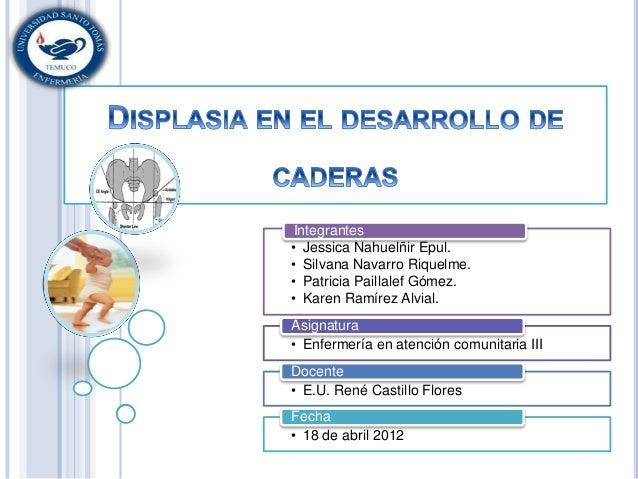 • Jessica Nahuelñir Epul. • Silvana Navarro Riquelme. • Patricia Paillalef Gómez. • Karen Ramírez Alvial. Integrantes • En...