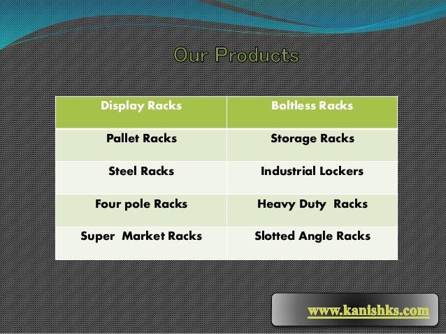 Display Racks Dealers in Hyderabad