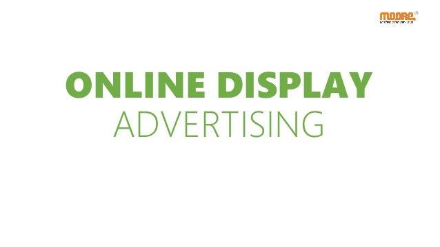ONLINE DISPLAY ADVERTISING