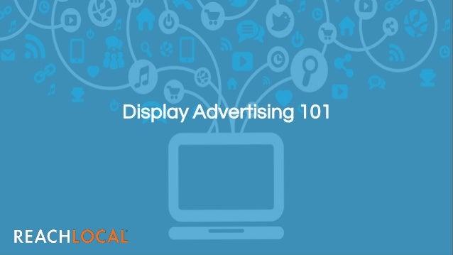 Display Advertising 101