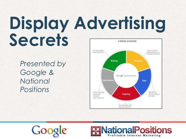 Display Advertising Secrets Presented by Google & National Positions