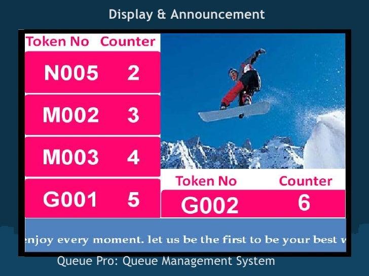 Display & AnnouncementQueue Pro: Queue Management System