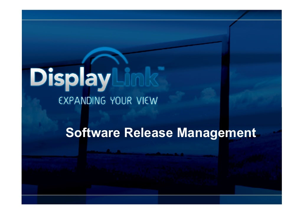 Software Release Management