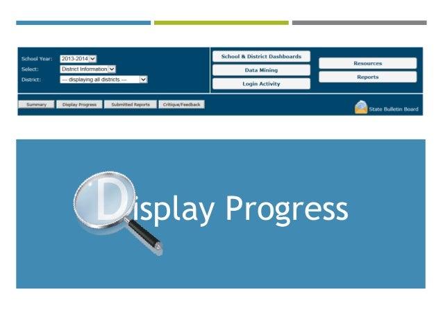 Display Progress