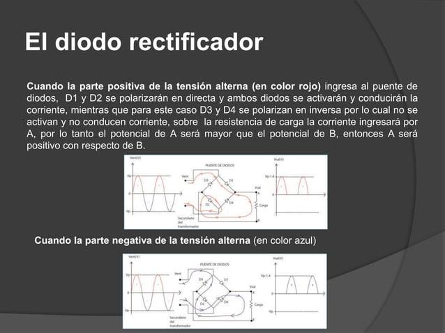 DIAC: Control de potencia en corriente alterna (AC)  El DIAC es un diodo de disparo bidireccional, especialmente diseñado...